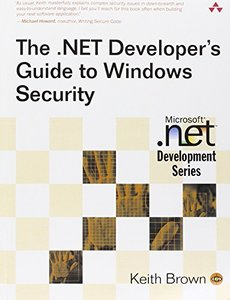 The .NET Developer's Guide to Windows Security-cover