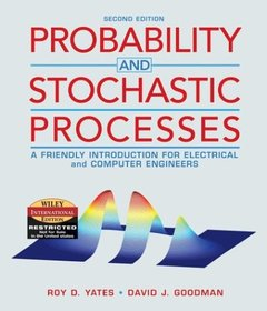 Probability and Stochastic Processes: A Friendly Introduction for Electrical and Computer Engineers, 2/e-cover