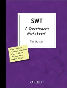 SWT: A Developer's Notebook-cover
