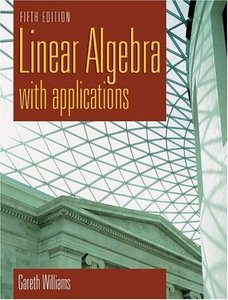 Linear Algebra with Applications, 5/e-cover