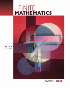 Finite Mathematics, 6/e-cover