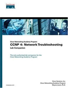 CCNP 4 : Network Troubleshooting Lab Companion (Paperback)-cover