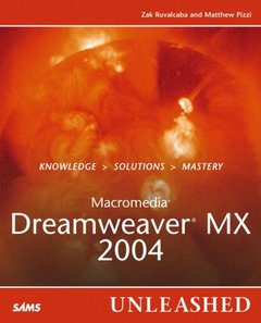 Macromedia Dreamweaver MX 2004 Unleashed-cover