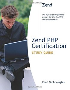 PHP Certification Study Guide (Paperback)-cover