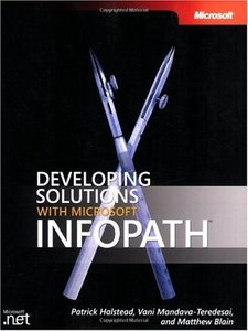 Developing Solutions with Microsoft InfoPath (Paperback)-cover