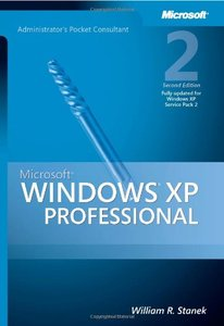 Microsoft Windows XP Professional Administrator's Pocket Consultant, 2/e (Paperback)-cover