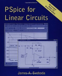 PSpice for Linear Circuits (uses PSpice version 9.2)-cover