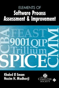 Elements Of Software Process Assessment & Improvement-cover