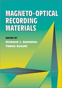Magneto-optical Recording Materials-cover