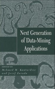 Next Generation of Data-Mining Applications (Hardcover)-cover
