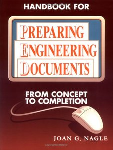 Handbook For Preparing Engineering Documents: From Concept To Completion-cover