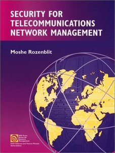 Security For Telecommunications Network Management-cover