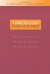 Communication Systems And Techniques  (an Ieee Classic Reissue)-cover