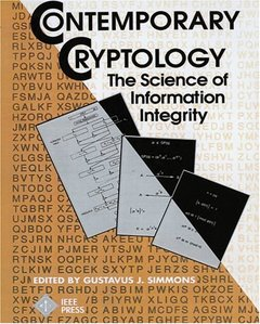 Contemporary Cryptology: The Science Of Information Integrity-cover
