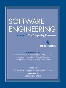 Software Engineering, Volume 2: The Supporting Processes, 3/e-cover