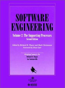 Software Engineering, Volume 2: The Supporting Processes, Second Edition-cover