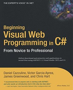 Beginning Visual Web Programming in C# (Paperback)-cover