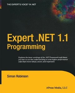 Expert .NET 1.1 Programming-cover