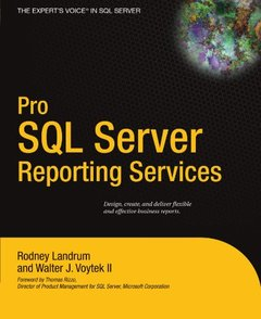 Pro SQL Server Reporting Services (Paperback)-cover