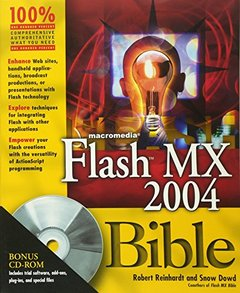 Macromedia Flash MX 2004 Bible-cover