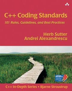 C++ Coding Standards: 101 Rules, Guidelines, and Best Practices (Paperback)-cover