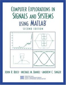Computer Explorations in Signals and Systems Using MATLAB, 2/e-cover