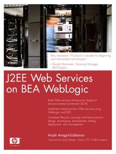 J2EE Web Services on BEA WebLogic-cover