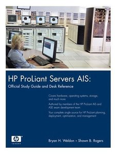 HP ProLiant Servers AIS : Official Study Guide and Desk Reference (Hardcover)-cover