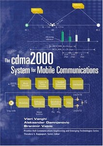 The cdma2000 System for Mobile Communications : 3G Wireless Evolution (Hardcover)-cover
