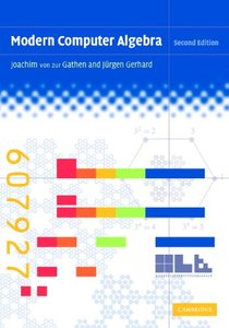 Modern Computer Algebra, 2/e-cover