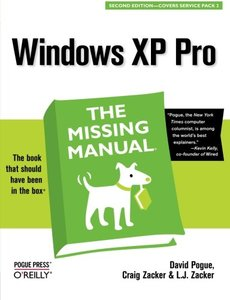Windows XP Pro : The Missing Manual, 2/e-cover