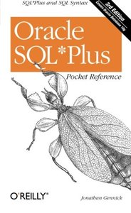 Oracle SQL*Plus Pocket Reference, 3/e-cover