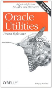 Oracle Utilities Pocket Reference-cover