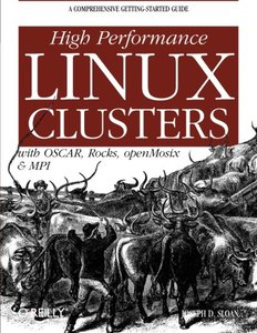 High Performance Linux Clusters With Oscar, Rocks,openmosix, And Mpi (Paperback)-cover
