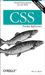 CSS Pocket Reference, 2/e-cover