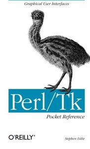 Perl/Tk Pocket Reference (Paperback)-cover