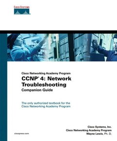 CCNP 4 : Network Troubleshooting Companion Guide-cover