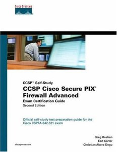 CCSP Cisco Secure PIX Firewall Advanced Exam Certification Guide, 2/e-cover