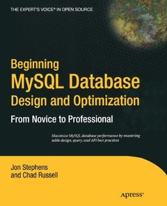 Beginning MySQL Database Design and Optimization: From Novice to Professional-cover