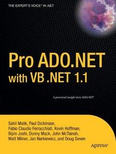 Pro ADO.NET with VB .NET 1.1