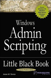 Windows Admin Scripting Little Black Book, 2/e-cover