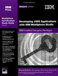 Developing J2EE Applications with WebSphere Studio: IBM Certified Enterprise Developer-cover