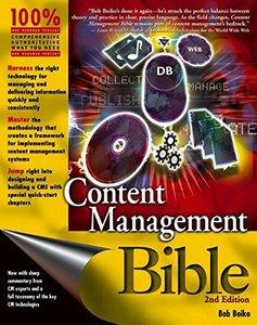 Content Management Bible, 2/e-cover