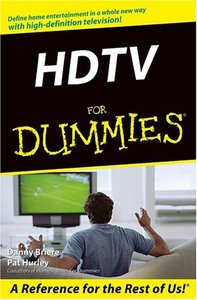 HDTV For Dummies (Paperback)-cover