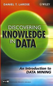Discovering Knowledge in Data: An Introduction to Data Mining-cover
