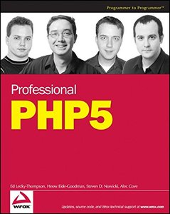 Professional PHP5-cover