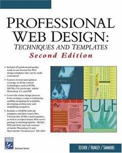 Professional Web Design: Techniques and Templates, 2/e (Paperback)-cover