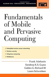 Fundamentals of Mobile and Pervasive Computing-cover
