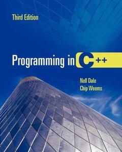 Programming in C++, 3/e (Paperback)-cover
