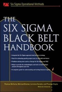 The Six Sigma Black Belt Handbook-cover